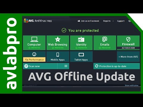 AVG 2014 Antivirus Offline Update