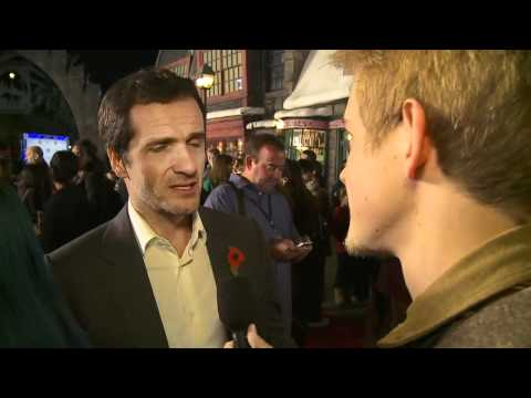 David Heyman on the Red Carpet at Warner Bros. Home Entertainment Celebration