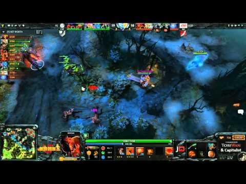 LGD vs Invictus Gaming Game 3  Sina Cup TobiWanDOTA DotaCapitalist