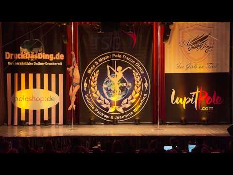 Miss & Mister Pole Dance Globe 2015 - Quan Bui - Silver - Men