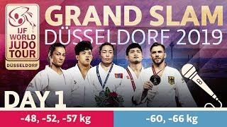Judo Grand-Slam Düsseldorf 2019: Day 1