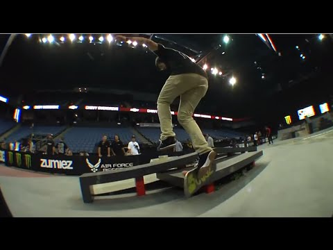 Street League 2012: Chris Cole&#39;s 5 Banned Trick In Ontario