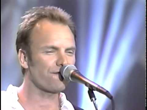 Sting - If I Ever Lose My Faith In You + Fields of Gold [5-13-93]