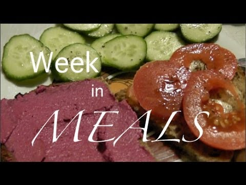 Week in MEALS #2 | food diary