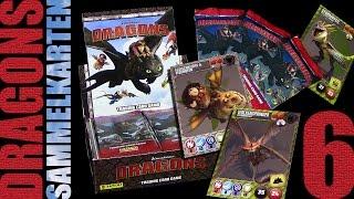 Dragons - Panini ® Trading Card Game - Sammelkarten Box Unboxing 6 / 2015 Re-Upload