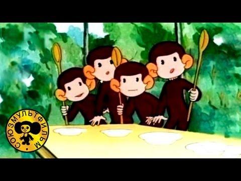 Обезьянки - Как обезьянки обедали