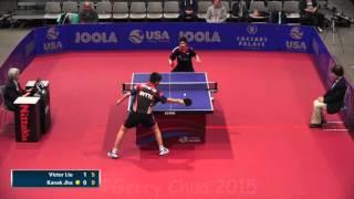 Kanak Jha vs Victor Liu Men's Final
