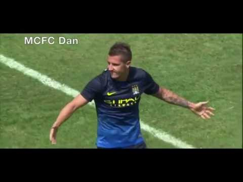 Stevan Jovetić goals, assists and skills 2014/15 HD