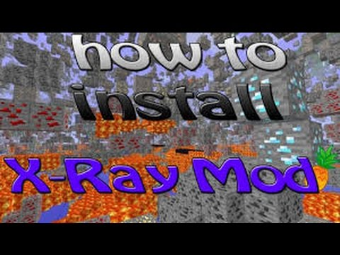 How To Install Xray Mod On Minecraft 1.7.9 1.7.10 1.7.8
