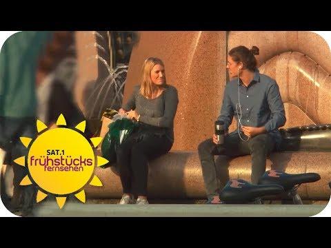 Welche FLIRTSPRÜCHE kommen BESSER an? | SAT.1 Frühstücksfernsehen | TV