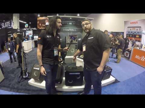 Winter NAMM 2017 - Hartke HD500 combo amplifier - 2 Minute Snapshots thumbnail