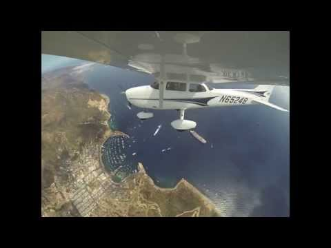 L.A. sightseeing flights Swiss Crew summer 2013 [HD]