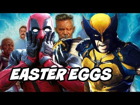 Deadpool 2 TOP 50 Easter Eggs - Infinity War Jokes and References Explained