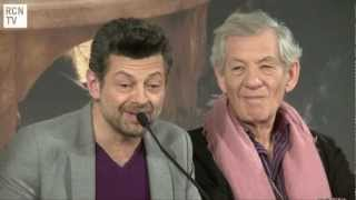 Andy Serkis Interview - The Voice & Inspiraton for Gollum - The Hobbit An Unexpected Journey
