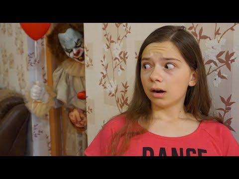 ОНО и ЧАКИ напугали до обморока! Звонок родителям и Пеннивайз в реальности #3 Nepeta Страшилки