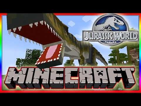 Minecraft Jurassic World Modded Roleplay Adventure! Ep.1