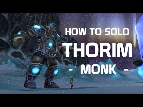 Monk Solo - Ulduar - Thorim 10