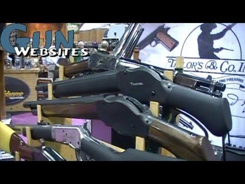 Short Lever Shotgun. Lever Action Pistol from Taylors Co.