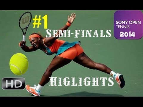 HD-Serena Williams vs.Maria Sharapova Miami*Sony Open* 2014 Highlights