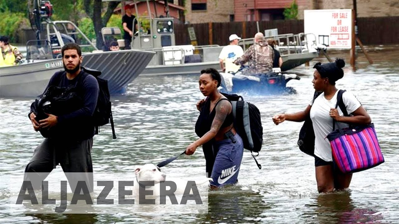 US: Tropical Storm Harvey displaces 30,000 in Texas