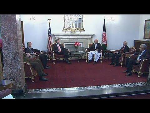 Afganistán: Kerry y Karzai acercan posiciones sobre la seguridad tras 2014