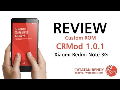 Review Custom ROM CRMod 1.0.1 for Xiaomi Redmi Note 3G