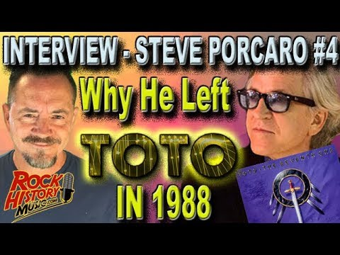 INTERVIEW: Why Steve Porcaro Left Toto After