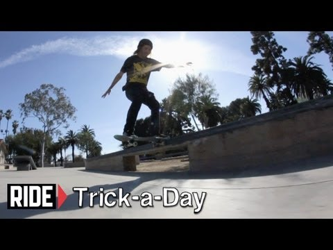 How-To Frontside Tailslide With Chad Fernandez - Trick-a-Day