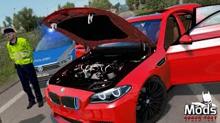 ETS2 v1.35 Mod ▶️ BMW M5 F10 ➕ Speed Test