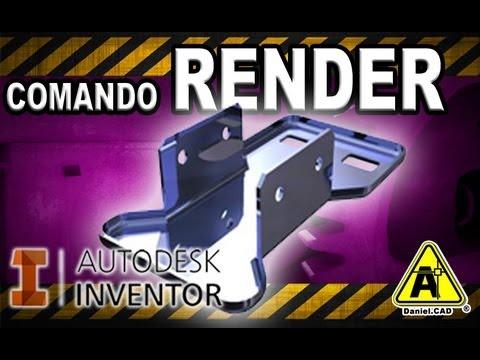 Autodesk Inventor - Comando Render