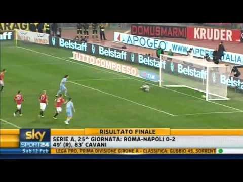 Roma-Napoli 0-2  12/02/11