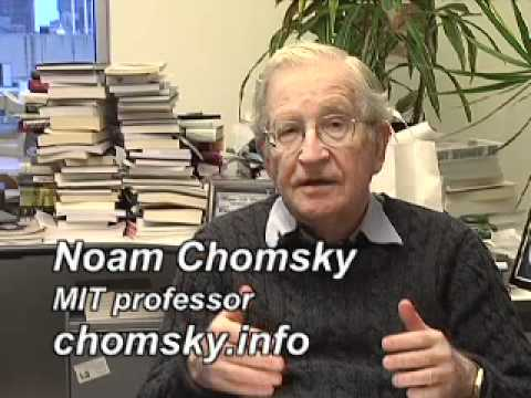 Noam Chomsky: How Climate Change Became a  Liberal Hoax 