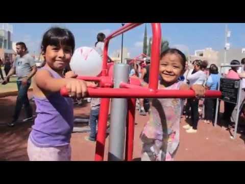 18 Gimnasios al aire libre benefician a 100 mil personas en #Tonalá