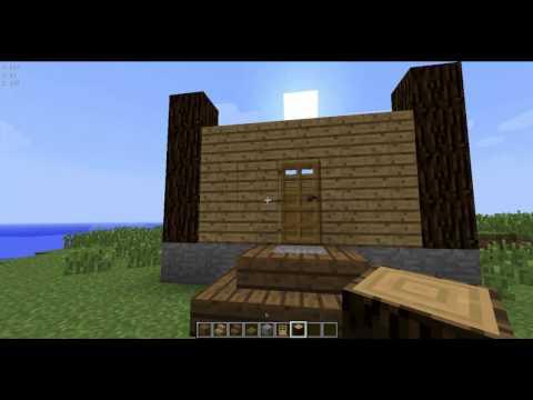 Как сделать из коробки красивый дом в minecraft