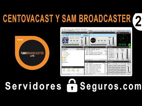 CONFIGURAR CENTOVACAST Y SAM BROADCASTER (RADIO EN LINEA)