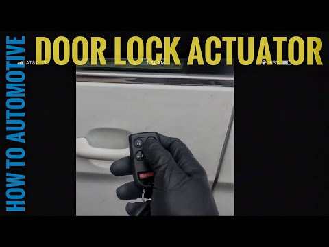 How to Replace the Door Lock Actuator on a 2006 Honda Odyssey