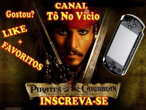 Piratas do Caribe - PSP Gameplay