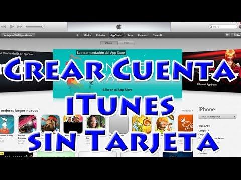 Cómo crear una cuenta iTunes sin Tarjeta de Crédito y Gratis 2014