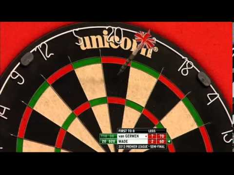 van Gerwen v Wade | 2/2 | SEMI FINAL | Premier League Darts 2013