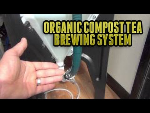Cyclone Compost Tea Brewer - Organic Compost Tea Brewing System Container Best Tea Brewers For