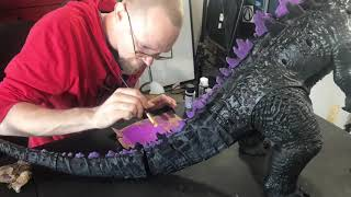 Godzilla and King Kong - 96 Studios Nerd Art