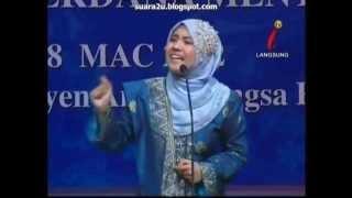 Fathiah (Malaysia) - Pertandingan Pidato Antarabangsa Bahasa Melayu Piala Perdana Menteri 2012