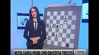 """Editia 169 - Emisiunea de sah """"Strategie in alb si negru"""""""