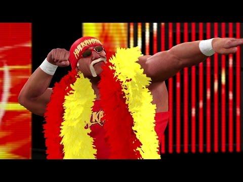 WWE 2K15: Hulk Hogan's Red and Yellow Entrance