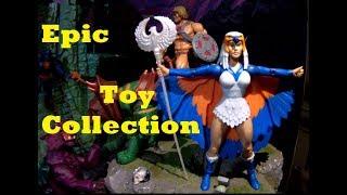 * HUGE Action Figure COLLECTION - Heman, Gi Joe, Star Wars, EPIC TOY ROOM