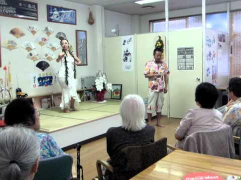 ハワイアンウェディングソング 生歌で生フラ