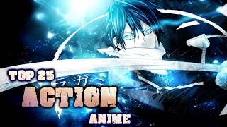 Top 25 Action Anime