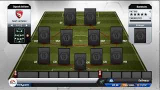FIFA 13 - Ultimate Team - Squad Builder - My Main Team (Expensive)