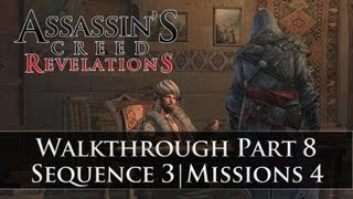 Assassins Creed - Revelations 100% Sync Walkthrough Part 8 (Sequence 3 | Memory 4)
