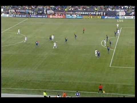 Stuart Holden scores tying goal against Haiti in Gold Cup (7-11-2009)